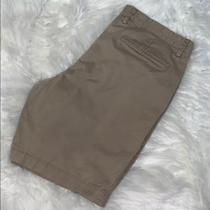Gap Khakis Slim Stretch Shorts
